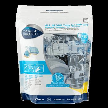 All-In-One-Waschmitteltabletten für Geschirrspülmaschinen