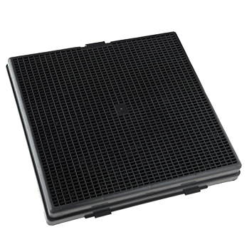 COMPATIBLE ACTIVATED CARBON ANTI-ODOUR FILTERS 223x228x30mm 510gr – Type 241