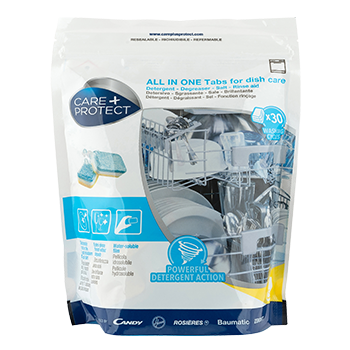 ALL-IN-ONE DETERGENT TABLETS FOR DISHWASHERS