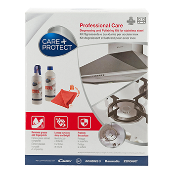 DEGREASING AND POLISHING KIT FOR STAINLESS STEEL