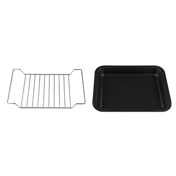 2 IN 1 ROASTING PAN AND GRID