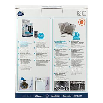 DESCALING KIT FOR WASHING MACHINES AND DISHWASHERS