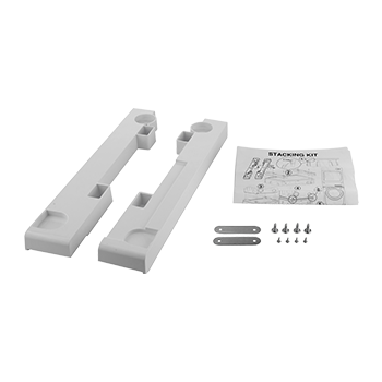 STACKING KIT FOR SLIM WASHING MACHINES AND DRYERS