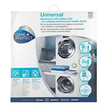 UNIVERSAL STACKING KIT WITH SLIDING SHELF