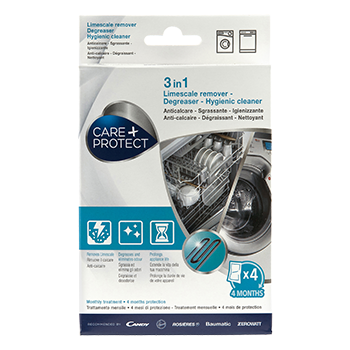 3-IN-1 LIMESCALE REMOVER – DEGREASER – HYGIENIC CLEANER – 4 sachets