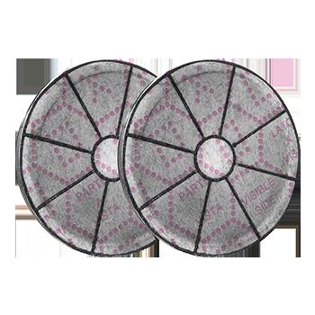 FILTRI COMPATIBILI ANTI-ODORE AI CARBONI ATTIVI 146x30mm 220gr – Type 145 – 2filters per pack