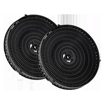 FILTRI COMPATIBILI ANTI-ODORE AI CARBONI ATTIVI175x45mm 406gr – Type 057 – 2 filters per pack