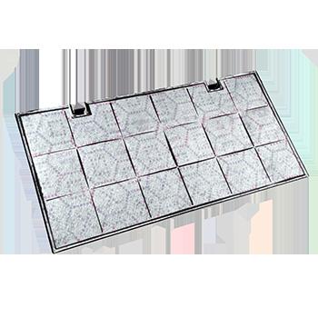FILTRI COMPATIBILI ANTI-ODORE AI CARBONI ATTIVI 435x217x20mm 1110gr – Type 150